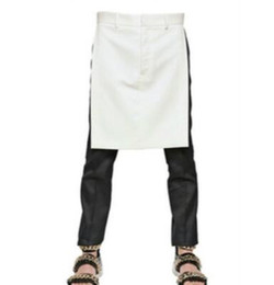 $enCountryForm.capitalKeyWord Australia - Wholesale quality 2019 New Men Plus Size Costumes Clothing GD Hair Stylist Fashion Culotte Skirt Decorated Korean Fashion Casual Pants