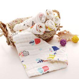 $enCountryForm.capitalKeyWord NZ - Eightlayer pure cotton gauze triangular baby mouthwash scarf baby mouth thickening soft nonfluorescent triangular towel wholesale
