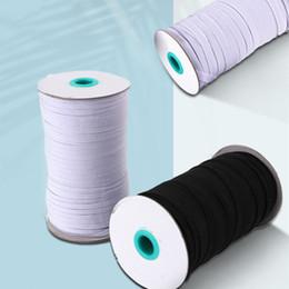 5mm and 3mm Elastic rope of mask ear belt elastic band polyester running belt latex flat elastic rope T2I5882 on Sale