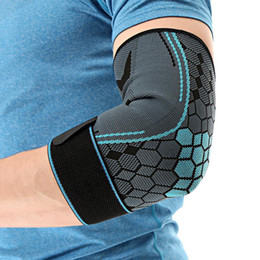 $enCountryForm.capitalKeyWord Australia - Men Women Sports Elbow Brace Compression Support Protector Nylon Breathable Elbow Sleeve Pad for Fitness Exercise Sports Safety