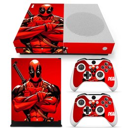 Sticker for xbox one online shopping - Fanstore Skin Sticker Vinyl Decal Protector Wrap for Xbox One S Console and Remote Controller Cool Design