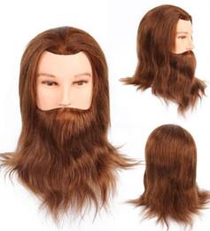 Dark Brown Hair Color Celebrities Australia - Human Hair Mannequine Head High Quality Virgin European Hair Dark Brown Color Light Brown Color Celebrity Wig Free Shipping
