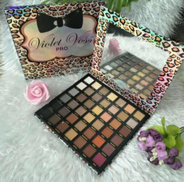 ride die eye shadow palette NZ - Eye shadow Palette eyes tool makeup Violet Voss pro ride or die 42 colors eyeshadow palette CZ61