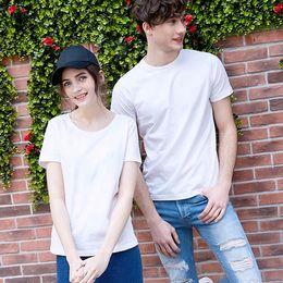 Custom Print T Shirt Cheap Australia - Hot selling 2019 Custom Design Casual style Summer Women Simple Style Wholesale Cheap Custom Printing 100% Cotton Comfortable T Shirt