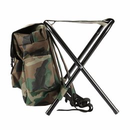 $enCountryForm.capitalKeyWord UK - Relefree Fishing Climbing Chair Backpack Camouflage Oxford Cloth Large Capacity Fishing Bag Foldable Stool Tackle Tool #85331