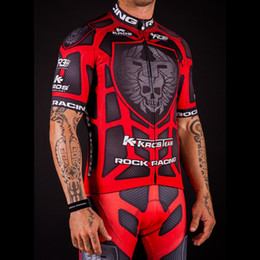cycling jerseys rock 2019 - High Quality Pro Team Rock Racing Bike Cycling Clothing Men Summer Ropa Ciclismo Breathable Short Sleeve Cycling Jerseys