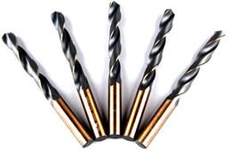 Straight Hss Drill Bit Australia - Small Stainless steel drill HSS High Speed Steel Bit Straight shank twist drill hand electric drill tip Set Kits Iron   Copper  Metal