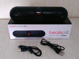 Novo pill8 XL Bluetooth Mini Speaker Protable Caixa de som de Música Estéreo Sem Fio de Áudio Super Bass U disco TF Slot Com caixa venda por atacado
