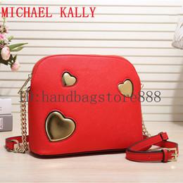 6d91c3c38d55 Woman Famous brand MICHAEL KALLY handbags crossbody chain shell bag summer  beach bags lady luxury designer should tote message bag purse