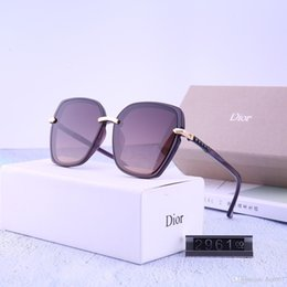 Wholesale New style of lady s box TR polarizing sunglasses super workmanship model six color choice with packaging box