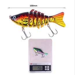 $enCountryForm.capitalKeyWord Australia - 10cm Classic Fishing Lures Fake Bait Plastic Hard Bait 15.6g 7 Sections Fish Bionic Bait W  Package Pesca Fishing Tackle