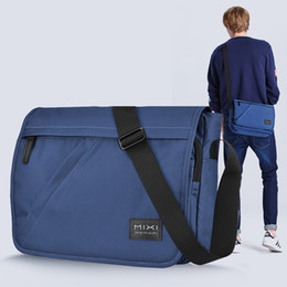 $enCountryForm.capitalKeyWord Australia - Mixi Fashion Men School Bag Boys Crossbody Satchel One Shoulder Bag Messenger Waterproof Big Capacity Designed For Youth M5177 Y19051701