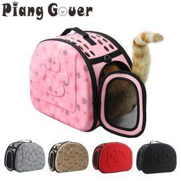 $enCountryForm.capitalKeyWord Australia - Dog Carrier Bag Portable Cats Handbag Foldable Travel Bag Puppy Carrying Mesh Shoulder Pet Bags S m l C19021302
