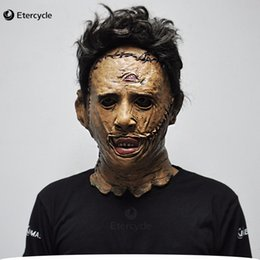 $enCountryForm.capitalKeyWord Australia - The Texas Chainsaw Massacre Leatherface Masks Scary Horror Mask Movie Cosplay Masker Halloween Costume Props High Quality Toys J190710
