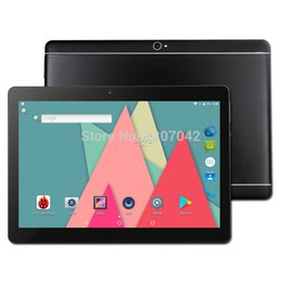 32 Inch Tablet Australia - Free shipping 10.1 inch tablet pc Android 7.0 RAM 4GB ROM 32 64GB Dual SIM Bluetooth WiFi IPS Smart tablets pc 10 10.1