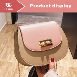 phone chain color Canada - Fashion Solid Color Satchel Designer Shoulder Bag Chain Handbag Luxury Crossbody Bag Mini Shell Bags Purse Brand Designer Tote Lady Wallet