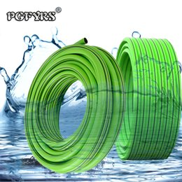 "Discount rubber water hoses 1 2 PVC hose household tap water hose antifreeze garden high pressure 4"" tube car wash explosion-proof rubber plast"