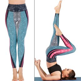 diving leggings Canada - Yoga Pants for Women Stretch Leggings Fitness Running Sports Active Trousers Swimsuit Swim Surf Snorkeling Dive Tights Printed