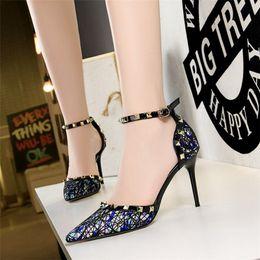 $enCountryForm.capitalKeyWord Australia - Hot Sale- high heels mary jane shoes escarpins sexy hauts talons pumps women shoes evening wedding shoes summer high heels tacones mujer