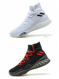$enCountryForm.capitalKeyWord NZ - 2017 Crazy Explosive 17 Primeknit Crystal White Basketball shoes for sale Explosive boot free shipping 40-47