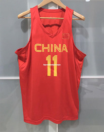 $enCountryForm.capitalKeyWord Australia - Cheap wholesale CHINA BASKETBALL YI JIAN LIAN JERSEY RIO OLYMPIC FIBA CBA T-shirt vest Stitched Basketball jerseys Ncaa
