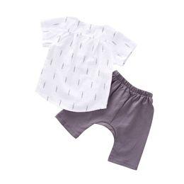 Clothing Boutique Suits Australia - 2019 New Hot Summer Tracksuit For Boys Girls Kids Top Suits Linen T Shirt + Pants 2 PCS Boutique Short Baby 0-5Y Clothes SetS