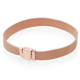$enCountryForm.capitalKeyWord Australia - Authentic 925 Sterling Silver Rose Reflexions Bangle Bracelet For Women fit Lady Bead Charm DIY Jewelry