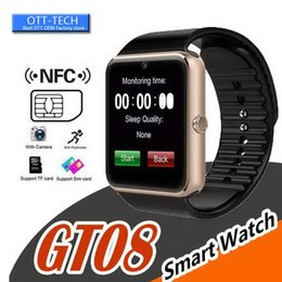 smart watch for woman sim card NZ - Bestselling Smart Watch GT08 Clock With Sim Card Slot Push Message Bluetooth Connectivity Android Phone Smartwatch for Women