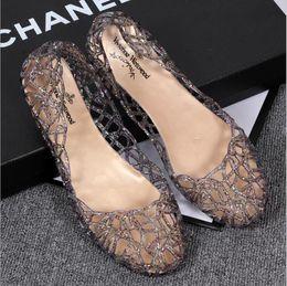 $enCountryForm.capitalKeyWord NZ - Summer Ladies Cheap Casual Hollow Plastic Jelies Jelly Shoes Fashion Women's Beach Flat Sandals