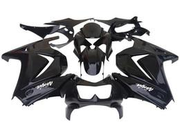 China New hot sales Black Fairing kit for KAWASAKI Ninja 250R EX 250 2008 2009 2010 2011 2012 EX250 08 09 10 11 12 Free windscreen suppliers