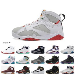 hare 7s shoes 2019 - Hot Sale Top Quality Bordeaux Hare French Blue 7s Basketball Shoes Women Men 7 Sneakers Sports Shoes Zapatos Mujer Free