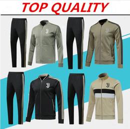 Высочайшее качество 2018 2019 RONALDO спортивные майки 18 19 свитер RONALDO DYBALA MANDZUKIC футбольная куртка Chandal
