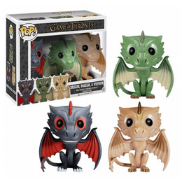 $enCountryForm.capitalKeyWord Australia - Funko pop Game of Thrones Dragon Set 3pc Pack Action Figure with original box Great Quality same day shipping