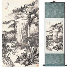 Chinese Floral Paintings Australia - Landscape Art Painting Super Quality Traditional Chinese Art Painting Home Office Decoration Chinese Painting1906101612