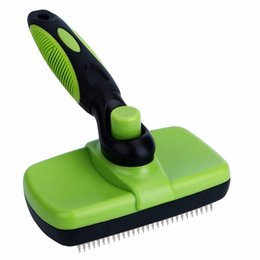 $enCountryForm.capitalKeyWord Australia - Gomaomi Pet Grooming Brush Comb Furmins Dog Self Cleaning Slicker Brush For Small Large Dog Cat Short Long Hair Q190523
