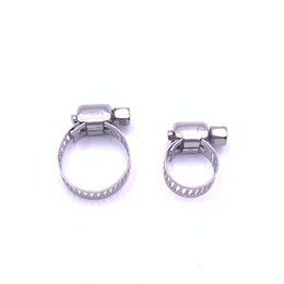 tube pipe clamps NZ - Hose Clamp for Water Cooling Pipes Hoop Buckle for Water Cooling Tube Clips Compatible with OD 8-12MM 9-16MM Hoses