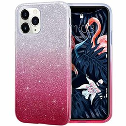 bling note Australia - 3 in 1 Bling Glitter Gradient TPU PC Case For iPhone X XR XS Max 8 7 6 5 Samung S5 S6 S7 Edge S8 S9 Plus Note 9 A6 A8 J2 Pro J4 J6 J8 2018