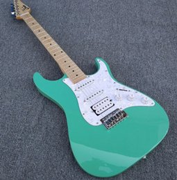 Discount electric guitars custom green - Custom shop, electric guitar, please see pictures, if you like, please give me order, I will build for you.