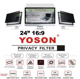 "More Anti Australia - 24"" Privacy Filter Screen Protector Anti Peep Films for Widescreen Desktop Monitors 16:9 Ratio"