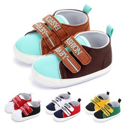 $enCountryForm.capitalKeyWord Australia - Canvas Sport Newbron Baby Shoes Boys Sneakers Spring Breathable Casual Girls Shoes Running Shoe For First Walkers 0-12M