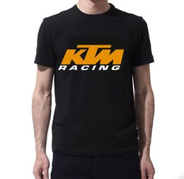 Chinese  New KTM Racing Logo balck Mx Offroad New Short sleeve T-Shirt Size S-2XL T Shirt Casual Men Clothing New Brand-Clothing T Shirts manufacturers