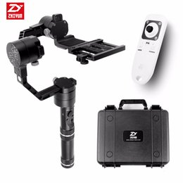 Camera Gimbal Dslr Australia - Freeshipping Crane 3 axi handheld stabilizer 3-axi gimbal for DSLR Canon Cameras Support 1.8KG F18164