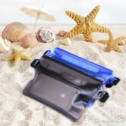 $enCountryForm.capitalKeyWord Australia - Universal Waist Pack Waterproof Pouch Case Water Proof Dry Bag Underwater Pocket Cover For Cellphone mobile phone Samsung iphone money Epack