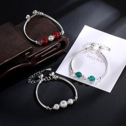 Fresh Bracelets Australia - Bell bracelet fashion women bracelet transfer beads alloy jewelry Korean style small fresh and lovely charms bracelets