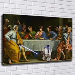 Art Canvas Prints Australia - Last Supper Canvas Painting Print Pictures For Living Room Home Decor Abstract Wall Art Oil Painting Poster