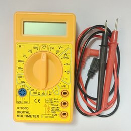 $enCountryForm.capitalKeyWord Australia - Hot sale Handheld Digital LCD Multimeter AC DC Voltage Ampere Meter Voltmeter Ohmmeter Ammeter Ohm Tester With Buzzer Leads free shipping