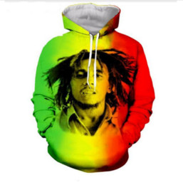 bape jacket xl UK - Out Fashion Streetwear 3D HD Print Casual Star Bob Marley Hoodies Sweatshirts Men Women Hoodie Jacket Coat LMS0100