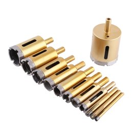 $enCountryForm.capitalKeyWord NZ - Diamond Drill Bit Gold Hole Saw Tool for Ceramic Marble Glass Stone Cutting Tools Optional Size 6mm-50mm