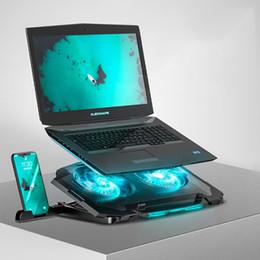 Großhandel 11-17-Zoll-Kühllüfter-Laptop-Stand-tragbare Basis-CPU-Laptop-Kühlerhalter für MacBook Air Pro Computer Kühlklammer