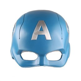 $enCountryForm.capitalKeyWord UK - Pop hot toys 1:1 Pretty Blue Captain America Masquerade Cosplay helmet prop mask Avengers endgame figure action anime figure toy